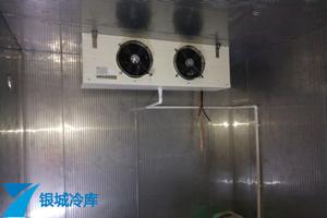 宁波公牛电器食堂不锈钢双温冷库工程